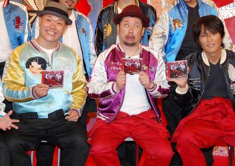(左より)ET-KINGのイトキン、ケンドーコバヤシ、千原ジュニア(C)ORICON DD inc.