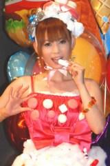 映画『くもりときどきミートボール』試写会イベントに登場した、中川翔子 (C)ORICON DD inc.