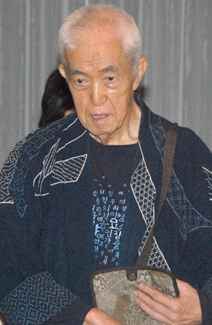 坂本九ファミリーパーティーに訪れた永六輔 (C)ORICON DD inc.