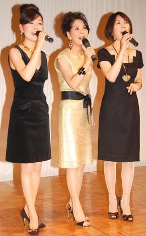 坂本九ファミリーパーティーで、「心の瞳」を披露したママ・エ・セフィーユ (C)ORICON DD inc.