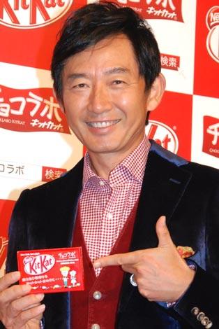 サムネイル 『チョコラボキットカット』お披露目トークイベントに出席した、石田純一 (C)ORICON DD inc.