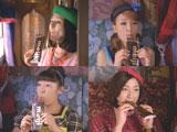 可愛らしい世界観が魅力の新CMカット(左上から)小泉今日子、木下優樹菜、広末涼子、森三中・村上知子