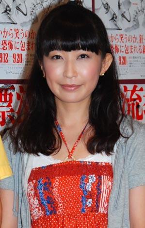 舞台『漂流教室』の公開リハーサルを行った、小野真弓 (C)ORICON DD inc.
