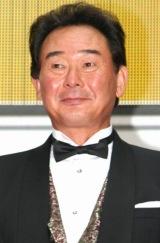 薬用シャンプー『ヘアメディカル スカルプD』のイベントに出席した、東尾修氏 (C)ORICON DD inc.