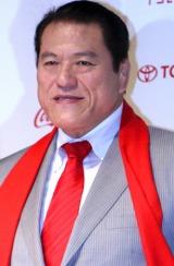 『第22回東京国際映画祭』の発表記者会見に出席した、アントニオ猪木 (C)ORICON DD inc.