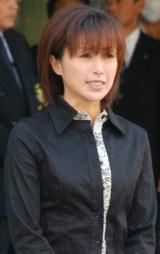 保釈された酒井法子被告【17日夕方=東京湾岸警察署】 (C)ORICON DD inc.