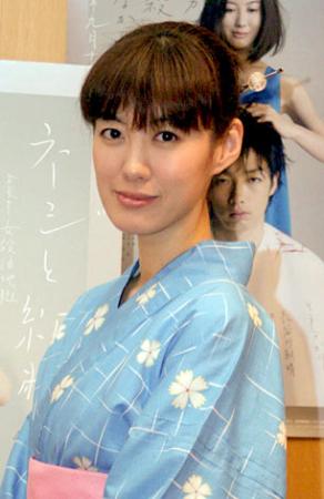 サムネイル 舞台『ネジと紙幣』の初日本公演前、取材に応じた ともさかりえ (C)ORICON DD inc.