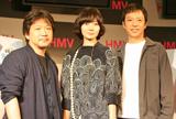 左から是枝裕和監督、ぺ・ドゥナ、板尾創路 (C)ORICON DD inc.