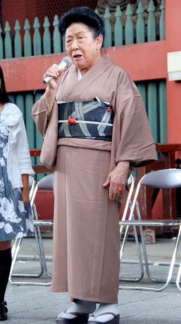 『第2回したまちコメディ映画祭 in 台東』のオープニングセレモニー前のフォトセッションに登場した内海桂子 (C)ORICON DD inc.
