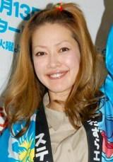 ディズニーアニメ『スティッチ!』放送開始記念イベントに登場した、オセロ・松嶋尚美 (C)ORICON DD inc.