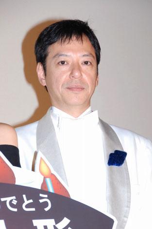 映画『空気人形』の公開初日舞台あいさつに出席した板尾創路(C)ORICON DD inc.