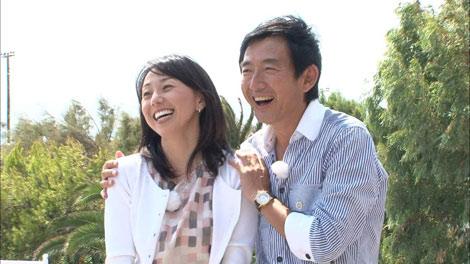 サムネイル 『ロンドンハーツ3時間スペシャル』(テレビ朝日系)で公開プロボーズし婚約した東尾理子と石田純一