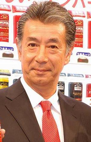 缶コーヒー『ワンダ モーニングショット』新CM発表会に出席した、高田純次 (C)ORICON DD inc.