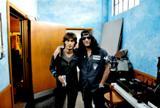 B'zの稲葉浩志とギタリストのスラッシュ