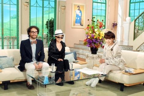ショーン・レノン、オノ・ヨーコをゲストに迎えた『徹子の部屋』