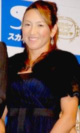 『スカパー!アワード2009』記者発表会に出席した、杉山愛さん (C)ORICON DD inc.