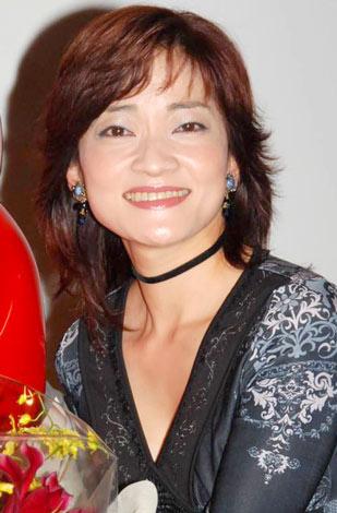 『がんばれ!! ロボコン』放送開始35周年DVD発売記念イベントに出席した、島田歌穂 (C)ORICON DD inc.