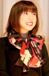 映画『パンドラの匣』の初日舞台あいさつに出席した、仲里依紗 (C)ORICON DD inc.