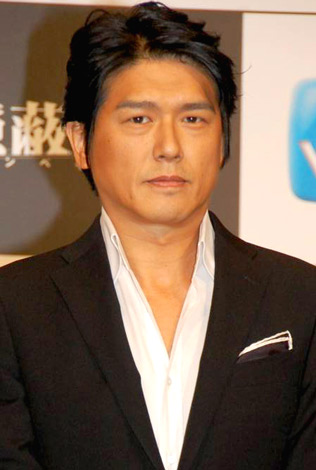 連続ドラマ『隠蔽指令』(WOWOW)の制作発表会見に出席した、高橋克典 (C)ORICON DD inc.