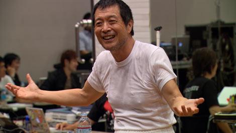 ドキュメンタリー作品『E.YAZAWA ROCK』のワンカット