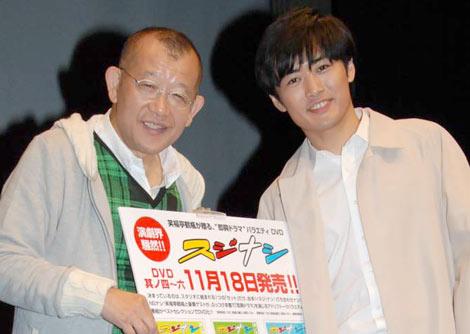 サムネイル (左から)笑福亭鶴瓶、劇団ひとり (C)ORICON DD inc.