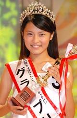 グランプリに選ばれた千葉県出身の15才・小島瑠璃子さん (C)ORICON DD inc.
