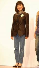 『ベストジーニスト2009』の協議会選出部門を受賞した、鳩山由紀夫首相夫人 (C)ORICON DD inc.