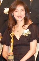 『東京ドラマアウォード』主演女優賞を受賞した、天海祐希 (C)ORICON DD inc.