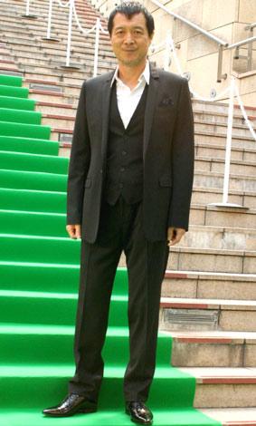 『第22回東京国際映画祭』で、専用に敷かれたグリーンカーペットを歩いた矢沢永吉 (C)ORICON DD inc.