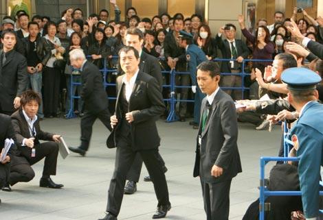 矢沢永吉が『第22回東京国際映画祭』グリーンカーペットに登場、会場には多くのファンが詰め掛けた (C)ORICON DD inc.