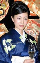 WEBサイト『クラブ隠蔽指令』のオープン記念イベントに出席した、青山倫子 (C)ORICON DD inc.