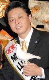 WEBサイト『クラブ隠蔽指令』のオープン記念イベントに出席した、鳩山来留夫 (C)ORICON DD inc.