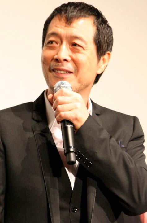 ドキュメンタリー映画『E・YAZAWA ROCK』で、人生初の舞台あいさつを行った矢沢永吉 (C)ORICON DD inc.