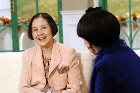 『徹子の部屋』(テレビ朝日系)故・南田洋子さん出演時の模様