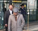 歌手デビューする、元刑事の中谷満男が出演する音楽ビデオの撮影風景