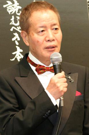 映画『笑う警官』の記者会見に出席した、角川春樹監督 (C)ORICON DD inc.