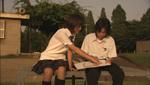 漫画家志望の岡山天音くん(中3)と、ろう学校に通う女優志望の畑菜々子さん(中1)の心の触れ合いを描いた『少年は天の音を聴く』より