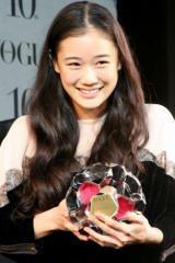 第5回『VOGUE NIPPON Women of the Year 2009 & Decade 2009』に出席した、蒼井優 (C)ORICON DD inc.