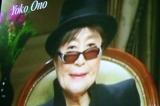 第5回『VOGUE NIPPON Women of the Year 2009 & Decade 2009』にビデオレターで参加した、オノ・ヨーコ (C)ORICON DD inc.