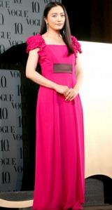 第5回『VOGUE NIPPON Women of the Year 2009 & Decade 2009』授賞式に参加した、仲間由紀恵 (C)ORICON DD inc.