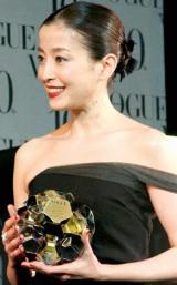 第5回『VOGUE NIPPON Women of the Year 2009 & Decade 2009』授賞式に参加した、宮沢りえ (C)ORICON DD inc.