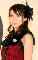 映画『銀色の雨』の舞台挨拶に登壇したAKB48・大島優子 (C)ORICON DD inc.