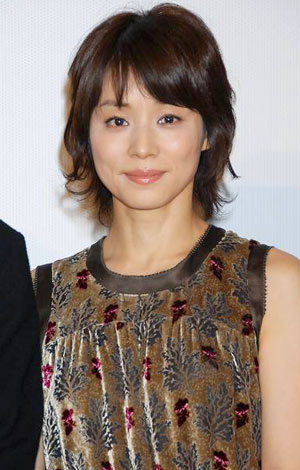 石田ゆり子さんのポートレート