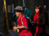 撮影中の映画『猿ロック THE MOVIE』のワンシーン (C)2010「猿ロック」製作委員会