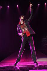 10月28日に全世界同時公開された映画『マイケル・ジャクソン THIS IS IT』のワンシーン