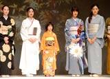 『日本の美を愛でる』着物ファッションショーの模様 (C)ORICON DD inc.