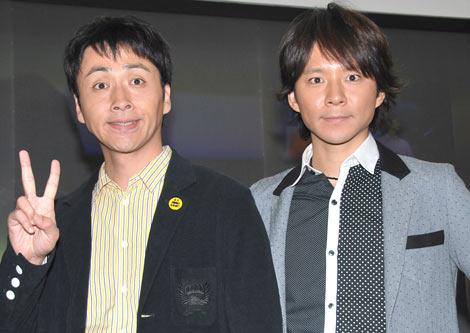 DVD『キンネンベスト』 の発売記念イベントを行ったアンジャッシュ (C)ORICON DD inc.