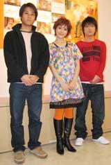 イベントに参加した3人(C)ORICON DD inc.