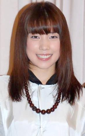 映画『時をかける少女』の完成披露試写会に出席した仲里依紗 (C)ORICON DD inc.
