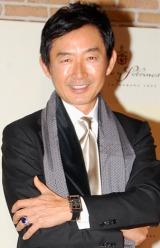『第3回ラティーノJAPAN2009』を受賞した石田純一 (C)ORICON DD inc.